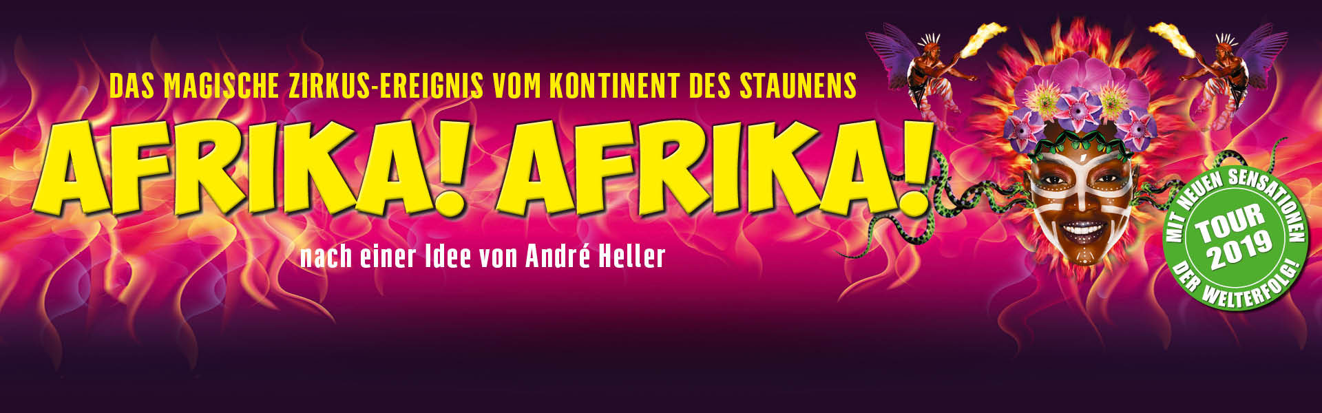 AFRIKA! AFRIKA! - Tour 2019 Mother Africa Circus
